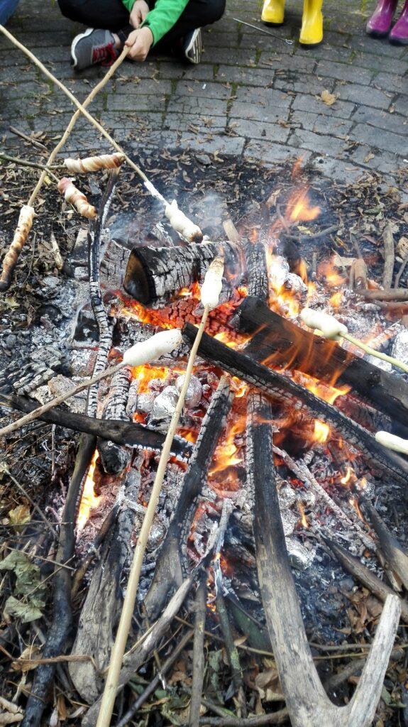 Stockbrot Kartoffelfeuer Dehme 2016